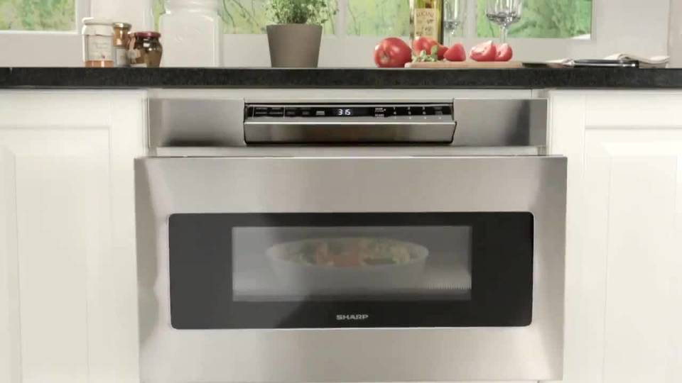 Sharp Microwave Oven Easy Touch Automatic Drawer System