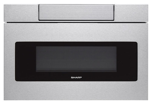 Sharp - 1.2 Cu. Ft. Built-In Microwave Drawer - Stainless Steel