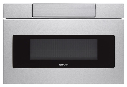 sharp microwave drawer. sharp - 1.2 cu. ft. built-in microwave drawer stainless steel