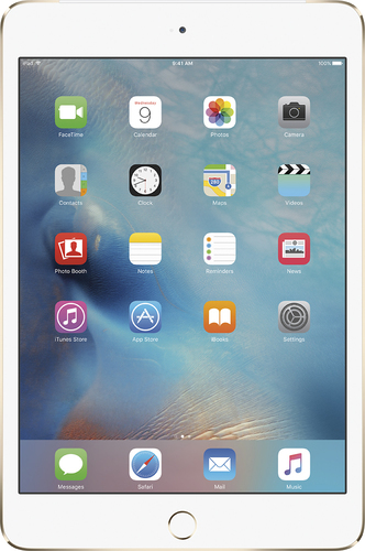 Apple - iPad mini 4 Wi-Fi + Cellular 64GB - Gold