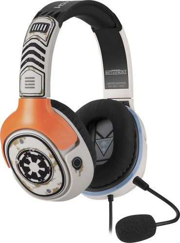 Turtle Beach Star Wars: Battlefront Sandtrooper Wired Stereo Gaming Headset for PlayStation 4, Xbox One, Windows and Mac Off White TBS-4321-01