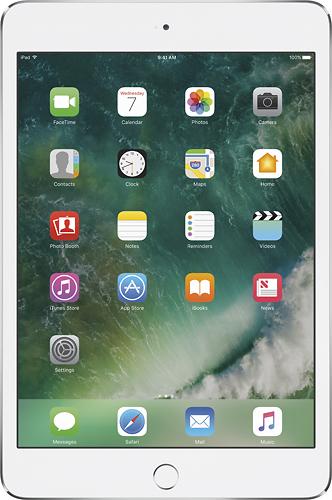 Apple - iPad mini 4 Wi-Fi 128GB - Silver