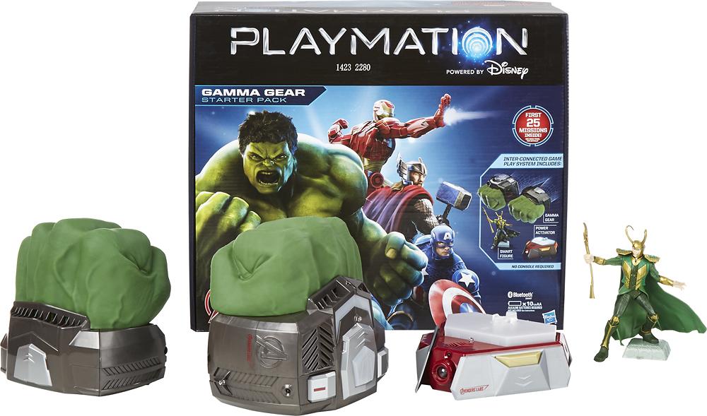 Hasbro - Playmation Marvel Avengers Starter Pack - Green/gray 4266304