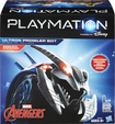 Hasbro - Playmation Marvel Avengers Ultron Prowler Bot - Silver/blue 4266500