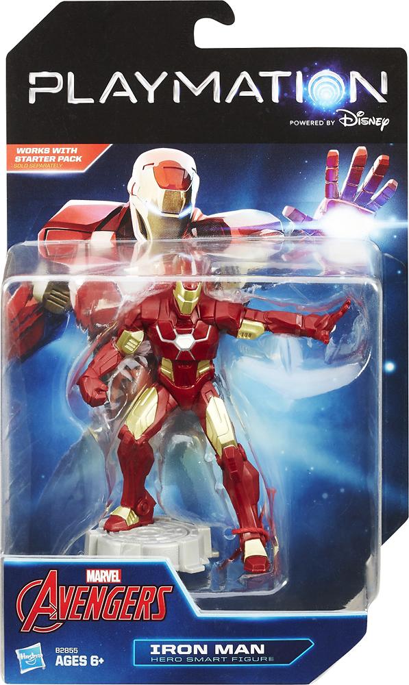 Hasbro - Playmation Marvel Avengers Iron Man Hero Smart Figure - Red/gold 4267000
