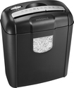 Insignia™ - 6-Sheet Crosscut Shredder - Black