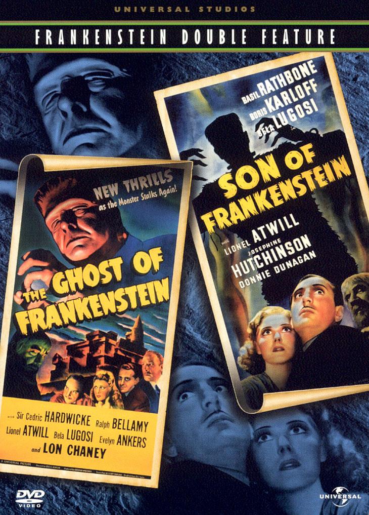 Son Of Frankenstein/ghost Of Frankenstein (dvd) 4267475