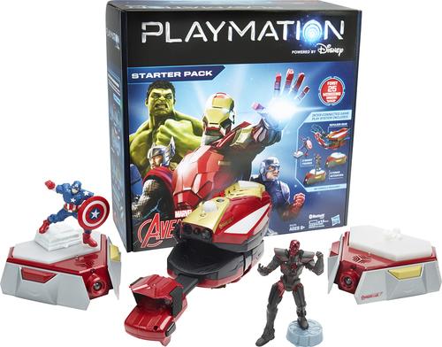 Hasbro - Playmation Marvel Avengers Starter Pack - Red/Gold