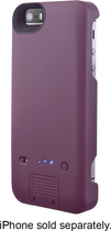 Platinum - External Battery Case for Apple® iPhone® 5 and 5s - Purple