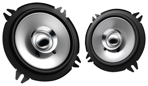 Kenwood - 5.25 2-Way Car Speakers (Pair) - Black