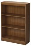 South Shore - 3-Shelf Bookcase - Morgan Cherry