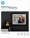 HP - Premium Plus Soft Glossy Inkjet Photo Paper - White