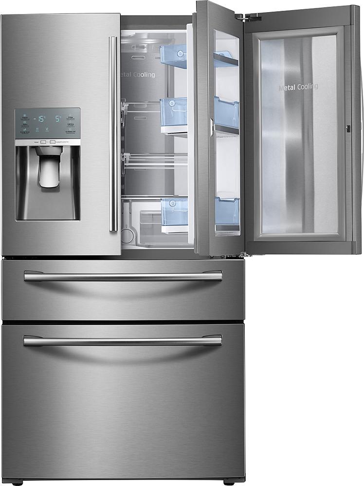 Samsung - Showcase 27.8 Cu. Ft. 4-door French Door Refrigera