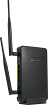 Amped Wireless - High Power Wireless-N 600mW Smart Router - Black