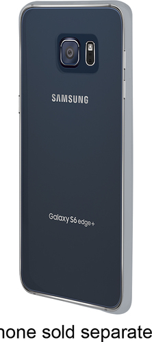 Insignia™ - Soft Shell Case for Samsung Galaxy S6 edge Plus Cell Phones - Clear
