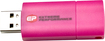 EP Memory - Wave 32GB USB 2.0 Flash Drive - Pink