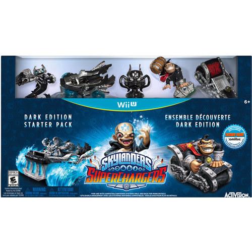 Skylanders Superchargers Dark Edition Starter Pack - Nintendo Wii U 4282931