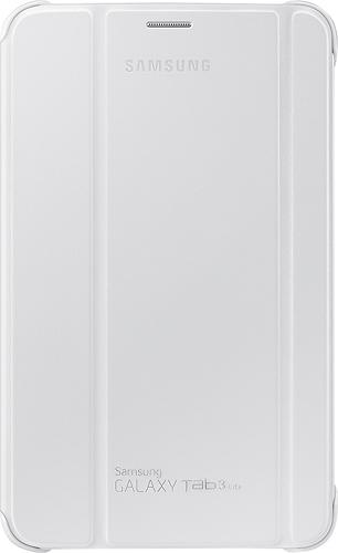 Samsung - Book Cover For Samsung Galaxy Tab 3 Lite - White