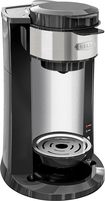 Bella - Dualbrew Single-serve Coffeemaker - Black/silver 4287300