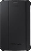 Samsung - Book Cover For Samsung Galaxy Tab 3 Lite - Black