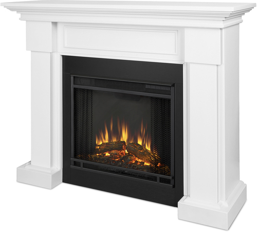 Real Flame - Hillcrest Electric Fireplace - White