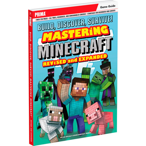Prima Games - Build, Discover, Survive! Mastering Minecraft, Revised and Expanded (Game Guide) - Multi