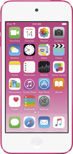 Apple - iPod touch® 16GB MP3 Player (6th Generation - Latest Model) - Pink