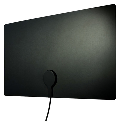 GE - Ultra Edge Indoor HDTV Antenna - Black