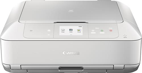 Canon - Pixma MG7720 White Wireless All-In-One Printer - White