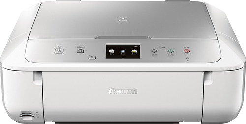 Canon - Pixma MG6822 Wireless All-In-One Printer - Silver/White