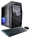 Cybertronpc - Trooper-x68 Desktop - Amd A4-series - 4gb Memory - 1tb + 8gb Hybrid Hard Drive - Black thumbnail