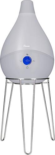 Crane - smartDROP 1.5-Gal. Ultrasonic Cool Mist Humidifier - Slate Gray