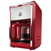 Bella - Dots Collection 12 Cup Manual Coffee Maker - Red
