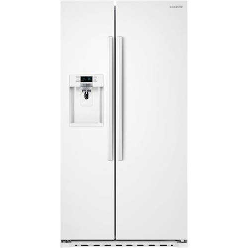 Samsung 223 Cu Ft Counter Depth Side By Side Refrigerator With In