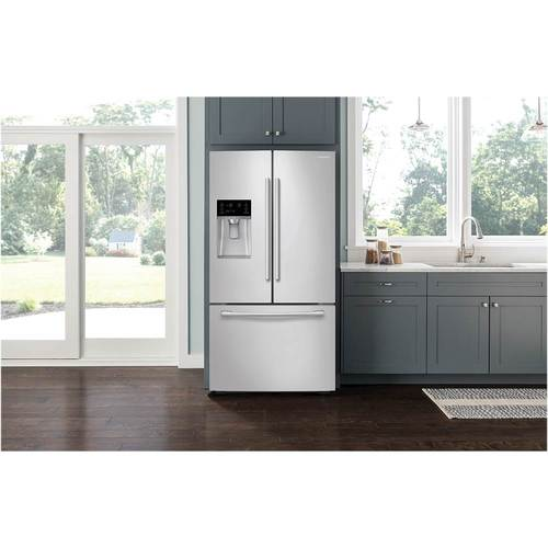 Samsung   22.5 Cu. Ft. French Door Counter Depth Refrigerator With Cool  Select