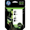 HP - 61 2-Pack Ink Cartridges - Black