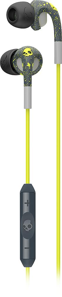 Skullcandy - Fix Earbud Headphones - Gray/Lime