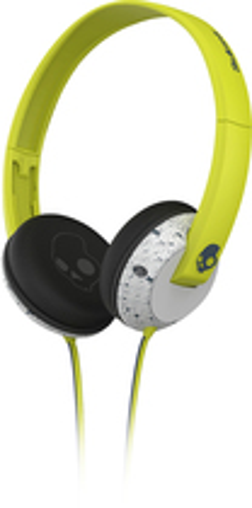 Skullcandy - Uprock On-Ear Headphones - Gray/Lime