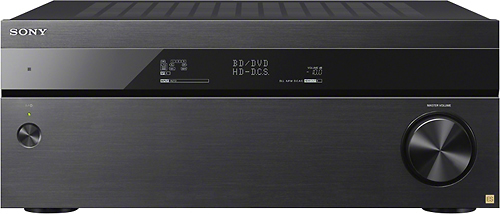 Sony - 630W 7.2-Ch. Network-Ready 4K Ultra HD and 3D Pass-Through A/V Home Theater Receiver - Black
