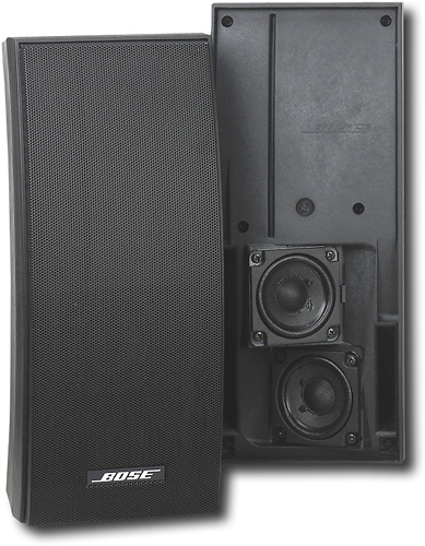 Bose® - 251® Environmental Speakers (Pair) - Black