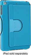 Targus - Versavu Slim 2 Case for Apple® iPad® mini with Retina display and iPad mini - Steel Blue