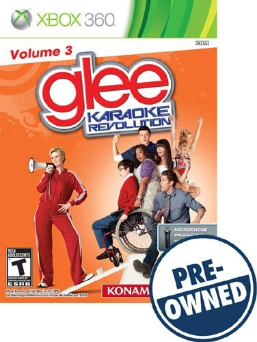 Karaoke Revolution Glee: Volume 3 - PRE-Owned - Xbox 360