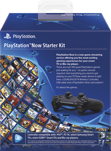Sony 3001097 PlayStation Now Starter Kit Black