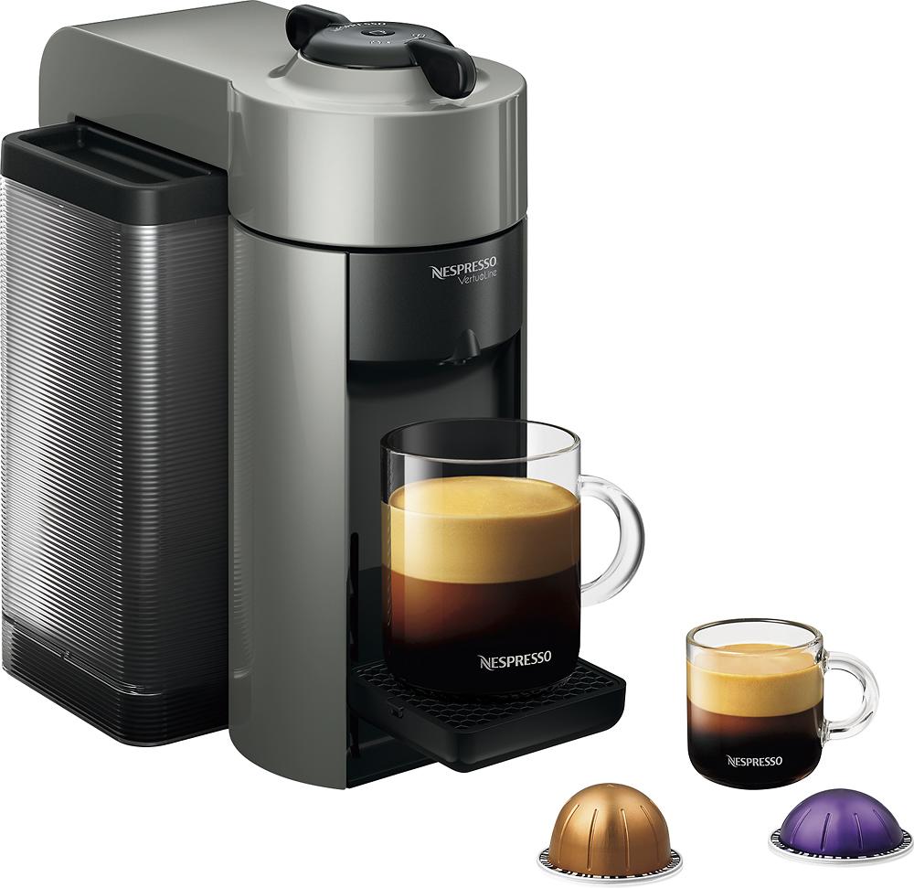 Nespresso - Vertuoline Evoluo Espresso Maker/coffeemaker - Gray