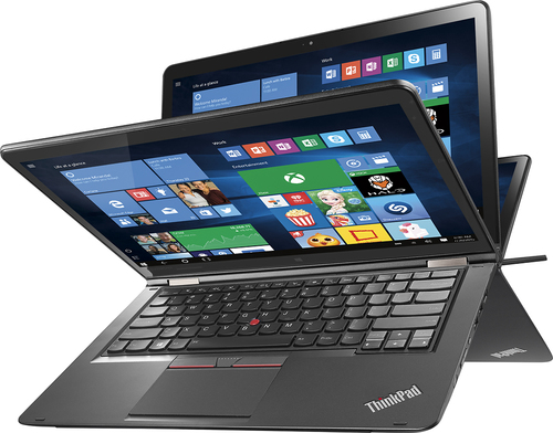 "Lenovo ThinkPad Yoga 2-in-1 14"" Touch-Screen Laptop Intel Core i5 8GB Memory 1TB Hard Drive Black THINKPAD YOGA 14 20DM009GUS"