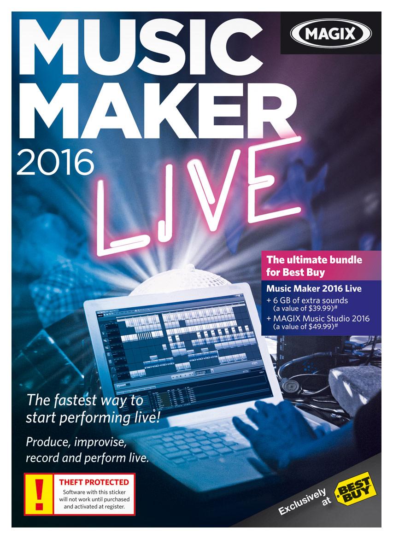 Music Maker Live 2016 Music Studio Software Windows 8129875