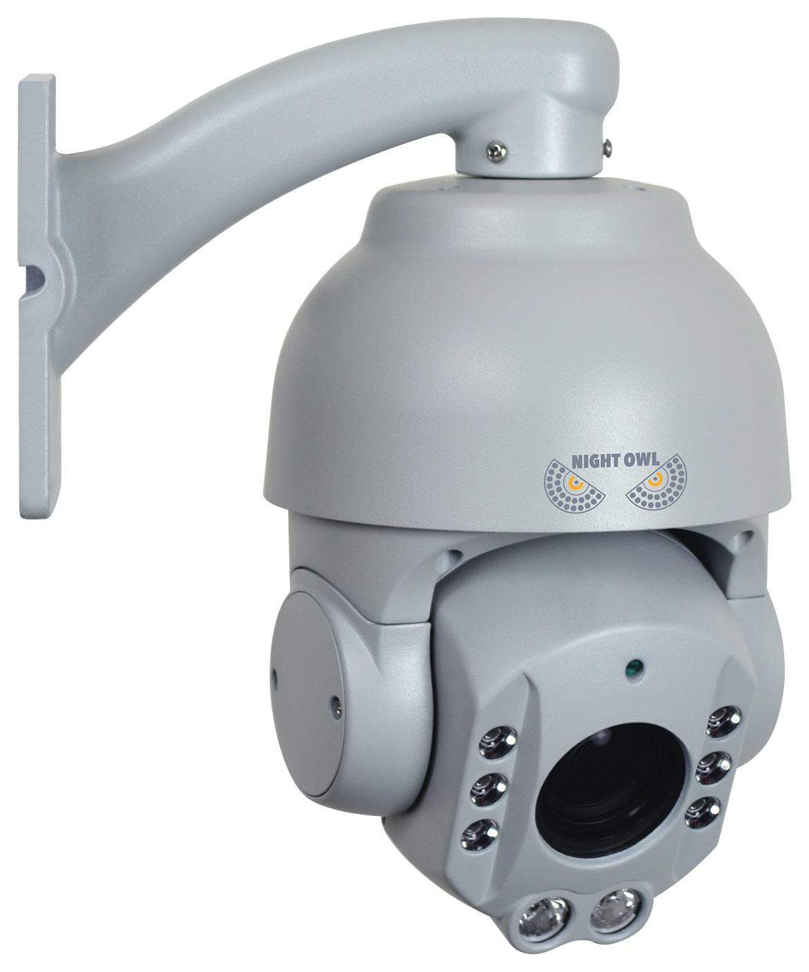 Night Owl AHD Series PTZ Surveillance Camera for Most Night Owl AHD Surveillance Systems Gray CAM-PTZ18X-AHD7
