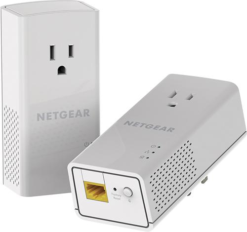 NETGEAR - Powerline Network Adapter - White