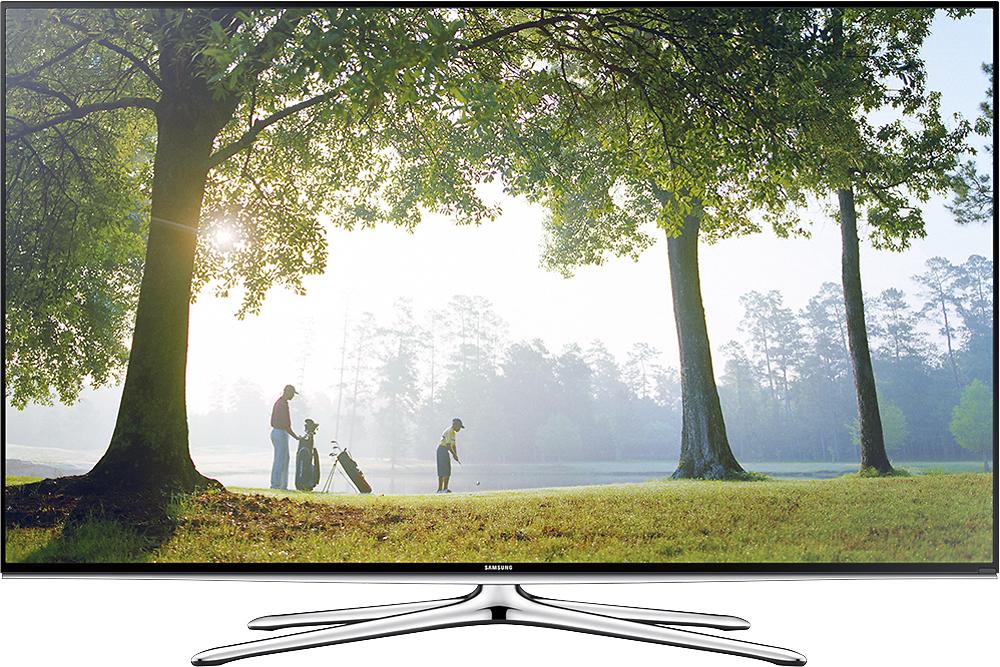 "Samsung - 55"" Class (54-5/8"" Diag.) - LED - 1080p - Smart - HDTV - Black"