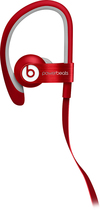 Beats by Dr. Dre - Powerbeats by Dr. Dre Clip-On Earbud Headphones - Red